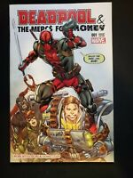 DEADPOOL & THE MERCS FOR MONEY 1 RARE ROB LIEFELD OWN COLOR VARIANT New