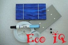 36 A 3x6 .5v WHOLE solar cells WIRES flux for DIY Panel