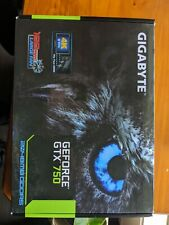 GIGABYTE NVIDIA GeForce GTX750 Ti Video Graphics Card GTX 750 2GB 128Bit GDDR5
