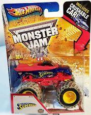 Hot Wheels MONSTER JAM SUPERMAN MAN OF STEEL Import.USA EDICIÓN LIMITADA
