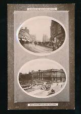 Staffordshire Staffs WOLVERHAMPTON bi-view used 1910 RP PPC