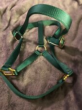 New Hunter Green Nylon Horse Halter Size Large 1100-1600 Lbs