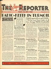 MARCH 10 1932 THE HOLLYWOOD REPORTER movie magazine - RADIO-KEITH IN TURMOIL