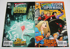 Supergirl & Legion of Super-Heroes #19 & #20 Both Signed by Barry Kitson LoSH DC
