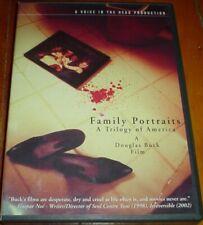FAMILY PORTRAITS: A TRILOGY OF AMERICA - OOP 2-disc DVD set / Douglas Buck /Cult