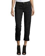 NWT One Teaspoon Awesome Baggies in Black Van Destroyed Relax Boyfriend Jeans 29