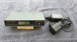 sennheiser ew 100 G1 wireless serie frequence 790-822 Mhz
