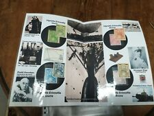 1928REGNO SPED.POLARE Umberto NOBILE-Folder+4 ERINNOFILI VERDE+BLU+ROSSO+MARRONE