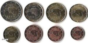 Estonia 2011 euro set 1c - 2 euro UNC