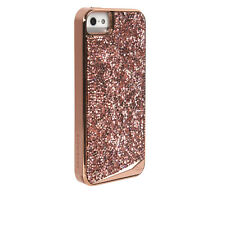 Case-Mate Brilliance Protective Case Cover for Apple iPhone 5 5s SE - Rose Gold