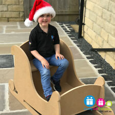 Santa's Sleigh MDF Large Wooden to sit in for Christmas