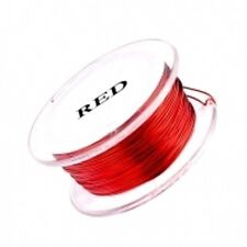Red Wire 26 Gauge 30 Yd non-tarnish jewelry craft, Parawire, Made In Usa