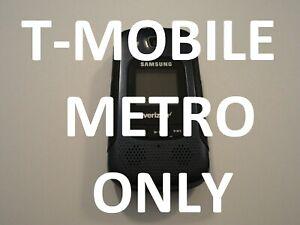 Samsung Convoy 4 B690V  T- MOBILE METRO Rugged Flip Cell Phone Good