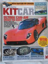 Complete Kitcar Dec 2016 Ultima Can Am, Dutton Phaeton, Raptor RR