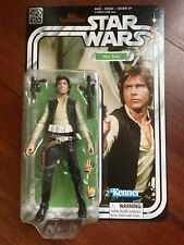 STAR WARS BLACK SERIES HAN SOLO A NEW HOPE 40th ANNIVERSARY KENNER HASBRO FIGURE