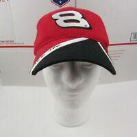 Winners Circle Dale Earnhardt Jr 8 Budweiser Red Adjustable Strapback Hat Cap