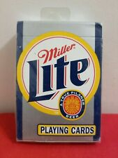 Miller Light Collector Playing Cards Sealed New