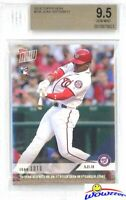 2018 Topps Now #235 Juan Soto FIRST EVER PRINTED TOPPS ROOKIE BGS 9.5 GEM MINT