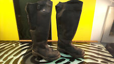 Mountain Horse Womens Horse Riding Boots decent Condition Size 7