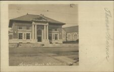 Whitinsville Ma Bank c1905 Real Photo Postcard
