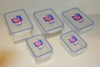 Lock /& Lock Boroseal Frischhaltedose flach rund 226x84mm transpare transparent