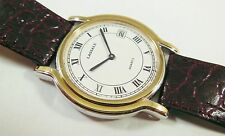 Lassale by Seiko Two-Tone Metal 5L14-6A20 Leather Sample Watch NON-WORKING
