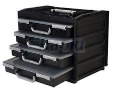 Raaco 137225 HandyBox 55 x 4 - Black/Silver
