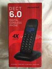 New! Packard Bell Dect 6.0 Cordless Phone Hands Free with Intercom System