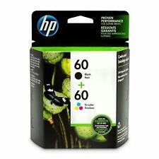 HP 60 Lot de 2 cartouches d'encre d'origine noir/tricolore (N9H63FN)