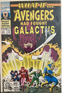 Lot Of 1 Hi $ Marvel Comic What If #41 Galactus See Pics Hot Upcoming TV Show