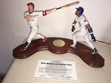 MLB MARK MCGWIRE & SAMMY SOSA 1998 HOME RUN KINGSDANBURY MINT COA