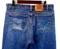 Vintage Levi's 505 Men's Regular Fit Straight Leg Stonewashed Jeans Size 34 X 28