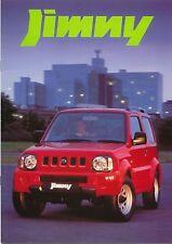 Suzuki Jimny 1.3 JLX 3-dr 1998-99 Original UK Sales Brochure