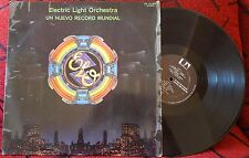 ELECTRIC LIGHT ORCHESTRA ***Un Nuevo Record Mundial*** ORIGINAL 1977 Mexico LP