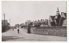 Thornham Schools & Street Norfolk Vintage Postcard Ducker  140c