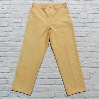 Vintage Filson Cotton Pants Size 34 Khaki