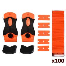 2 Handy Razor Scraper 100 Plastic Double Edge Blade Glass Sticker Remove Tool AU