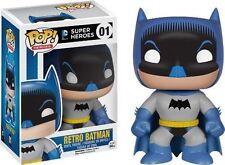 Retro Batman 1950s Comic Pop Super Heroes Vinyl Figure.