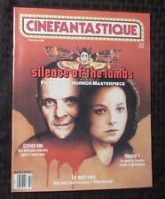 1992 CINEFANTASTIQUE Magazine v.22 #4 VF+ Silence Of The Lambs