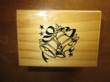 Holiday Bells Rubber Stamp