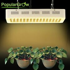 PopularGrow 600W LED Grow Light kit Full Spectrum Hydro System Plant Growth Lamp