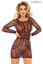 Robe résille sexy, PR1760 Provocative Lingerie, noir, neuf, livraison gratuite