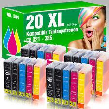 20 Tintenpatronen für HP 364 PhotoSmart B 109 a