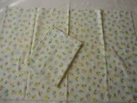 Pillowcases 2 Vintage JCPenney 1970's  Muslim Floral Print