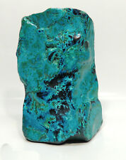 "7.67"" BEAUTIFUL SELF STANDING POLISHED CHRYSOCOLLA AND MALACHITE CONGO A-104"