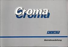 FIAT CROMA Betriebsanleitung 1988 Bedienungsanleitung Handbuch Bordbuch 154 BA