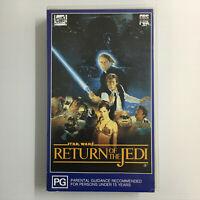 Star Wars - Episode VI Return Of The Jedi. 1992 Hi Fi Stereo CBS Fox VHS Video 6