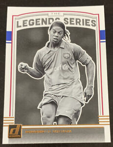 2018-19 Panini Donruss The Legend Series Ronaldinho LS-2 FC Barcelona