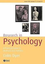 Research In Psychology: A Practical Guide 2/e International Edition