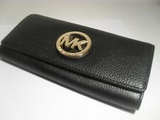 Nwt Michael Kors Leder Fulton �œberschlag Carry All Geldbörse In